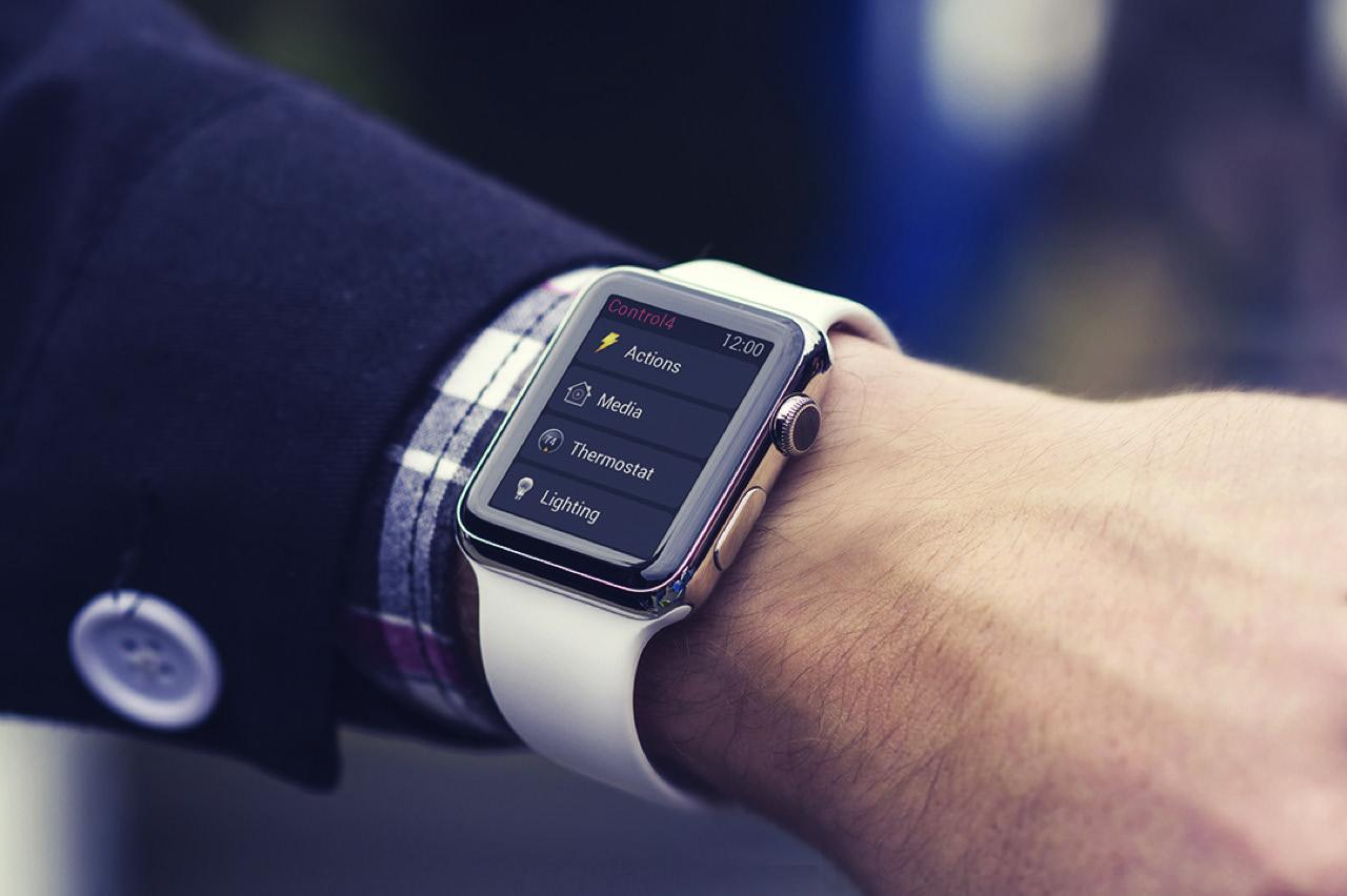Control4 App on Apple Watch
