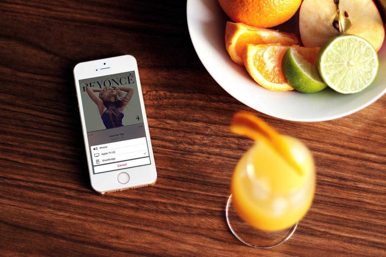 Playing music from your iOS device